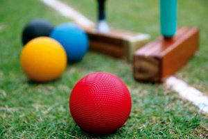croquet and mallets